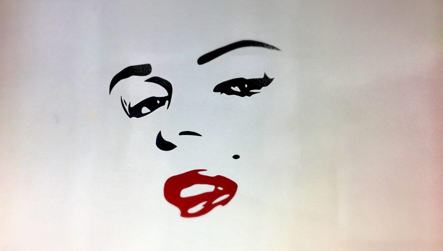 Marilyn Monroe Adhésif mural