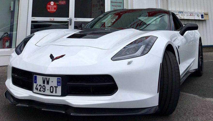 Corvette C7 décoration adhésive